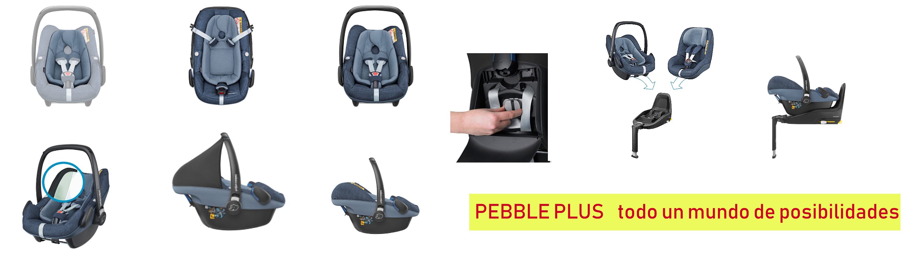 PEBBLE PLUS DE BEBE CONFORT