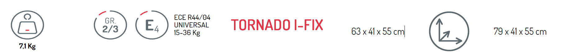 TORNADO I-FIX BE COOL TECNICO