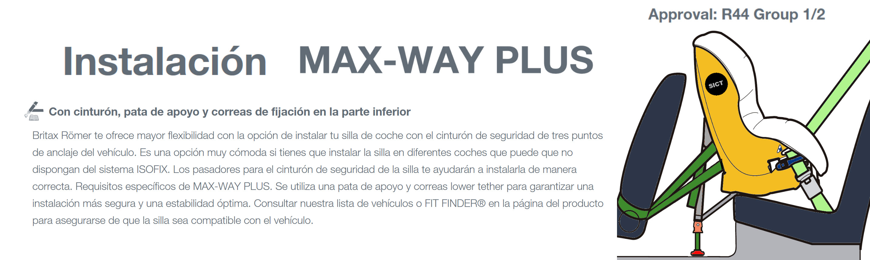 INSTALACION MAX WAY PLUS