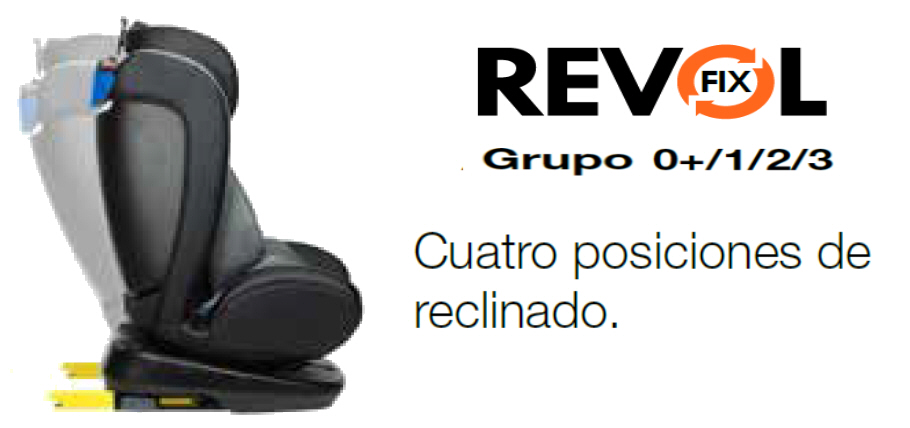 REVOL FIX PLAYXTREM 360 POSICIONES RECLINADO