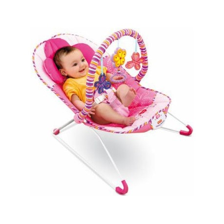HAMACA CONFORT ROSA FISHER PRICE