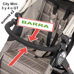 Barra delantera individual - City Mini/Elite/Summit X3