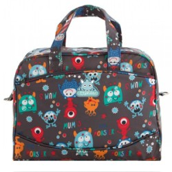 BOLSO MICROFIBRA+CAMBIADOR  471 MONSTERS