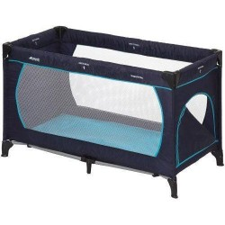Cuna viaje Dream'n Play Plus Navy/Aqua Hauck