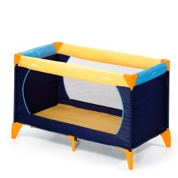 Cuna viaje Dream'n Play Yellow/Blue/Navy Hauck
