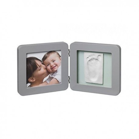 My Baby Touch Simple Frame Grey Baby Art