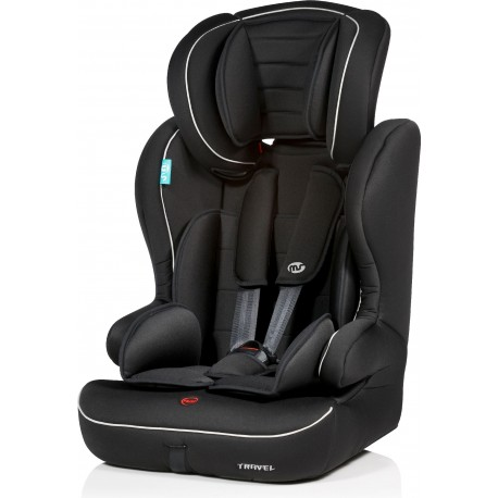 SILLA AUTO MS 1-2-3 TRAVEL NEGRA