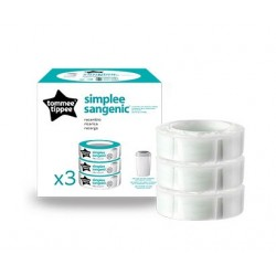 Recambio pañales Sangenic Tommee Tippee 3 uds