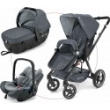 Cochecito Camino Concord trio Travel Set Gris STEEL GREY