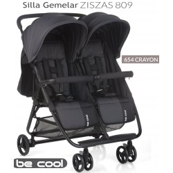 SILLA GEMELAR ZISZAS BE COOL BEIGE, 653 COOKIE