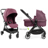 Cochecito Baby Jogger City Tour LUX DUO color BERENJENA capazo y barra