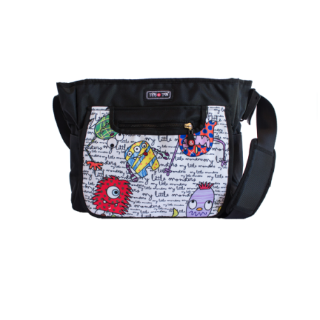 BOLSO CITY MONSTERS TRIS Y TON