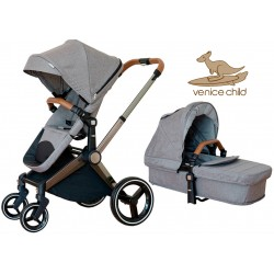CARRO DUO VENICE CHILD KANGAROO COLOR GRANITE
