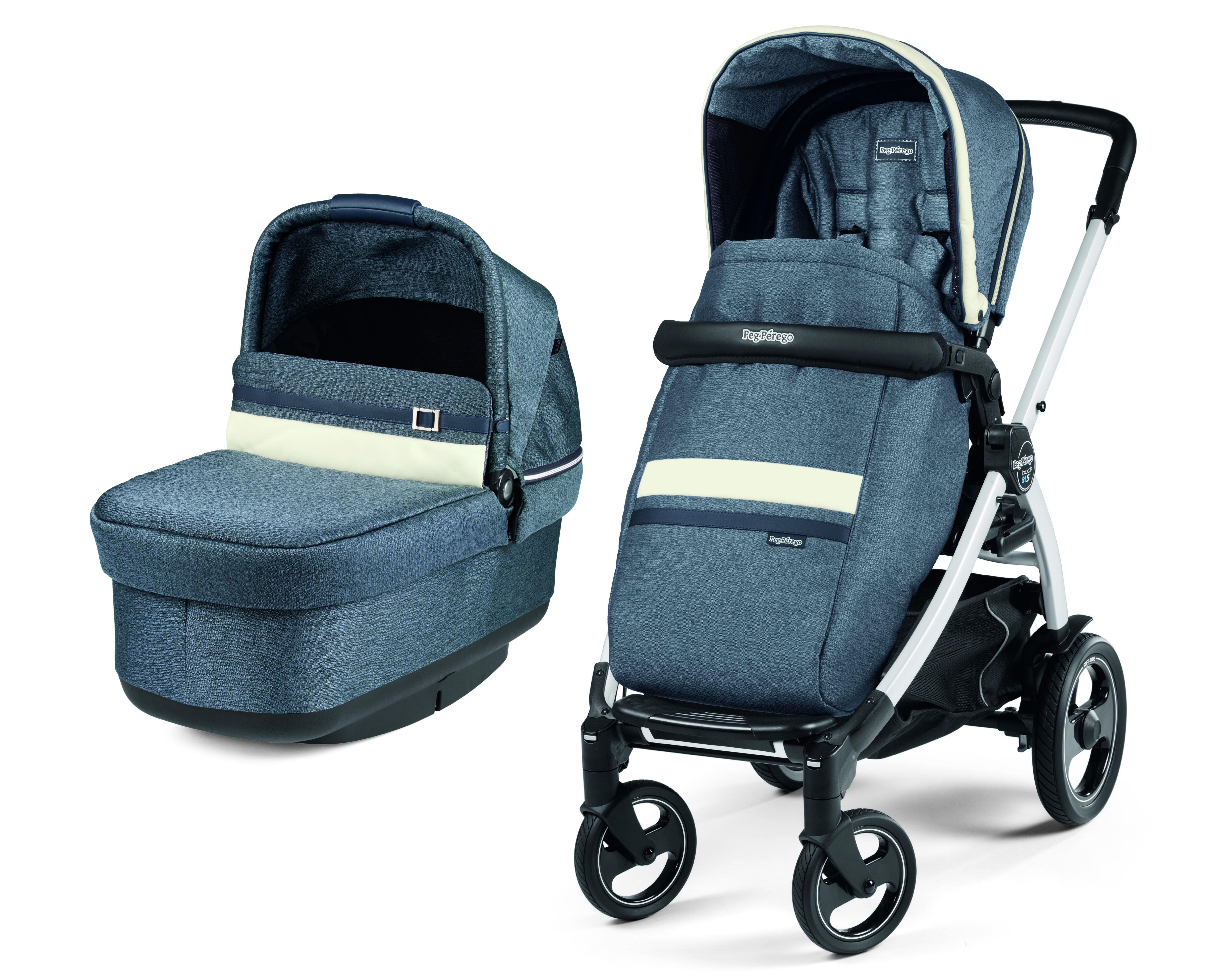 11b1cf1f3 CARRO 2 PIEZAS LUXE POP UP PEG PEREGO