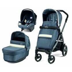 CARRO PEG PEREGO 3 piezas BOOK 51 LUXE POP UP COLOR  MIRAGE