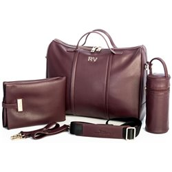 PACK BOLSO ROBERTO VERINO WINE RED