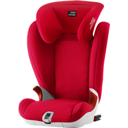 ROMER BRITAX KID II BLACK SERIES FIRE RED