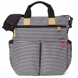 Bolso Duo WHITE STRIPE Skip hop