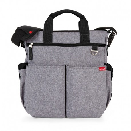 Bolso Duo signature GREY Skip hop