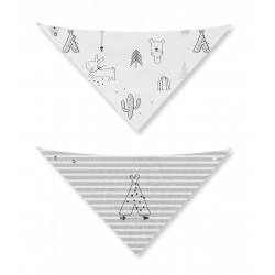 PACK 2 BANDANAS ALGODON  INDIAN CASUAL