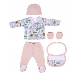 SET 5 PIEZAS ANIMALES DE INTERBABY