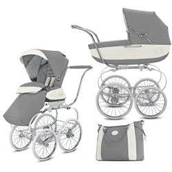 INGLESINA CLASSICA COLOR GRIS ARGENTO