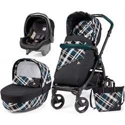 PEG PEREGO BOOK 51 3 EN 1 SPECIAL EDITION  ELITE TARTAN