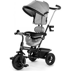 TRICICLO BABY TIGER FLY GRIS