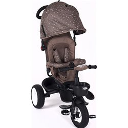 TRICICLO REVERSIBLE DOTTY KIKKA BOO MARRON