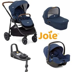 COCHECITO TRIO JOIE VERSATRAX + I-BASE ADVANCE