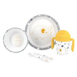 SET VAJILLA JUNGLE DE INTERBABY