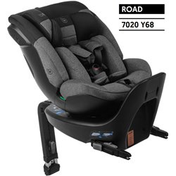 SILLA AUTO ZEUS BE COOL I-SIZE 40-125 ROAD NEGRO GRIS