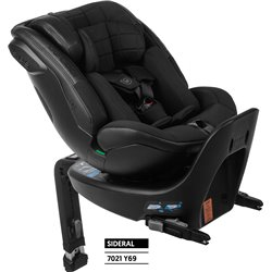 SILLA AUTO ZEUS PLUS BE COOL I-SIZE 40-125cm, COLOR NEGRO SIDERAL Y69