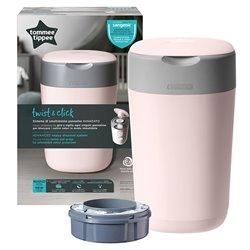contenedor pañales twist and click tommee tippee