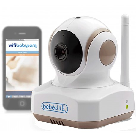 Intercomunicador WIFI Baby Cam Bebedue